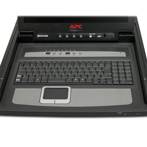 "17"" Rack LCD Console with Integrated 8 Port Analog KVM Switch"