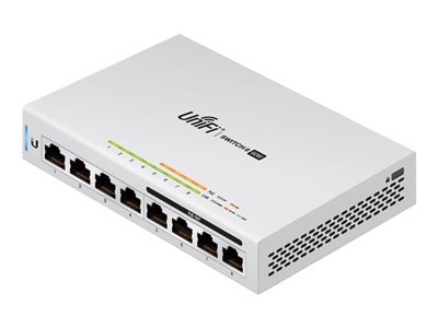 8-port managed gigabit 60W PoW switch