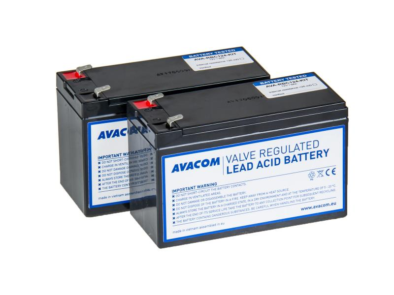 Avacom battery kit for renovation RBC124 (2Pieces of batteries typu HR)
