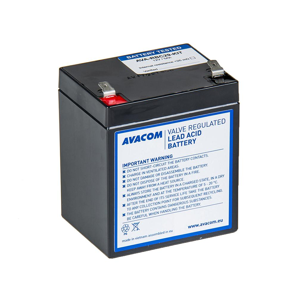 Avacom battery kit for renovation RBC29 (1 aku)