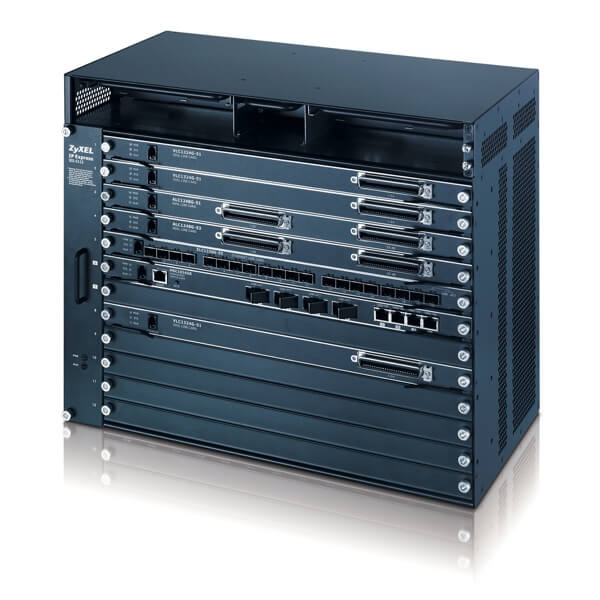 IES-5112M Chassis MSAN (2-MSC + 10-LINE card = 12-slot )