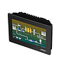 "7"" widescreen HMI with 4 serial, 2 Ethernet, 2 USB host, USB device, web server and data logging"